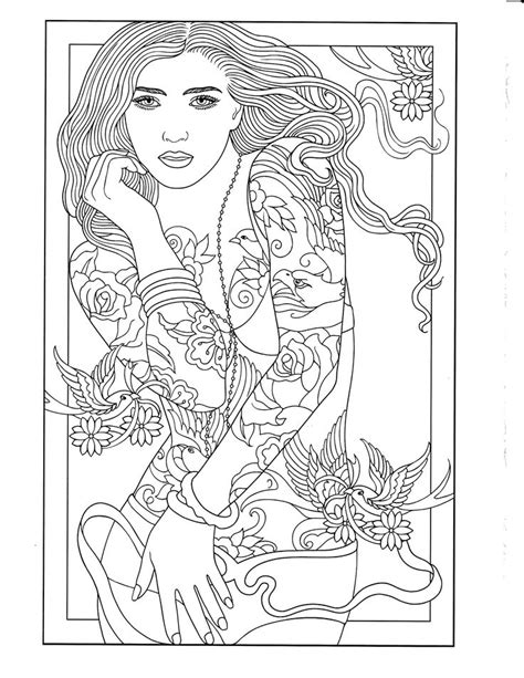 Printable Coloring Page | Body Art Coloring Pages | Pinterest | Coloring, Coloring pages and