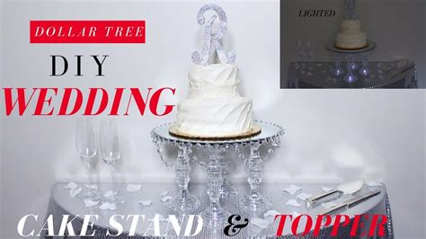 diy wedding cake stand dollar tree diy wedding