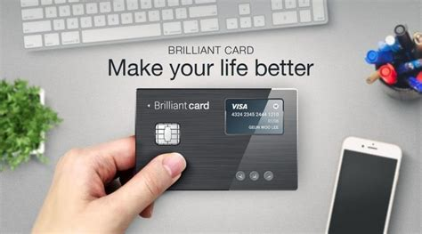 brilliantts smart credit card