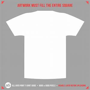 why all over print tees asset artwork must fill entire With full size t shirt template