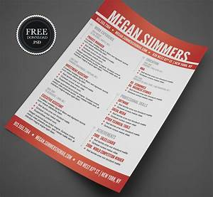 25 Beautiful Free Resume Templates 2018 DoveThemes