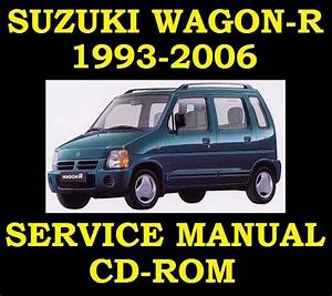 Suzuki Wagon R Sr410 Sr412 Factory Service Repair Workshop Manual Instant Wiring Diagram Manual