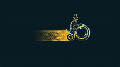 Wallpapers Bike Funny Tron Minimalistic Minimalist Desktop