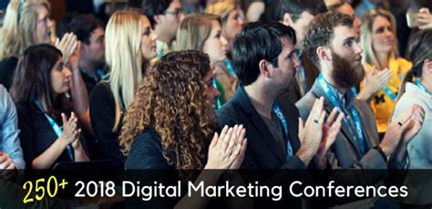 digital marketing conference calendar of 250 events around the world updated for 2018
