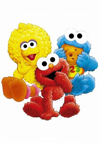 Sesame Street Characters Birthday Invitation Party Colors