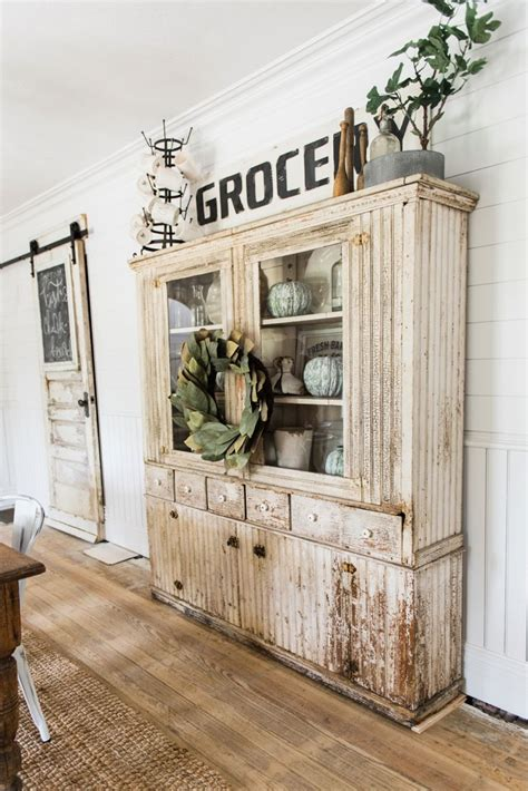 wohnwand shabby chic primitive dining room hutch shabby chic vintage style