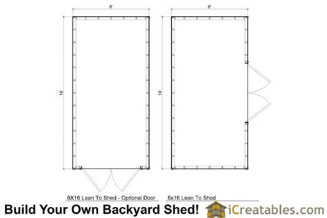 6x10 Shed Material List by Shedme 6 X 10 Shed Plans 8x16 Trailer