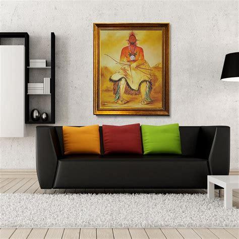 100% Handmade Home Goods Wall Art Buffalo Bull A Grand