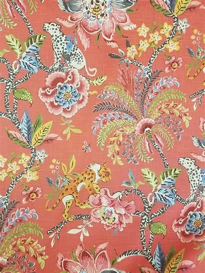 Waverly Fabric Drapery Spice Williamsburg Fabrics