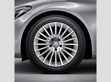 MercedesBenz 17 inch rims set of CClass W205 multi