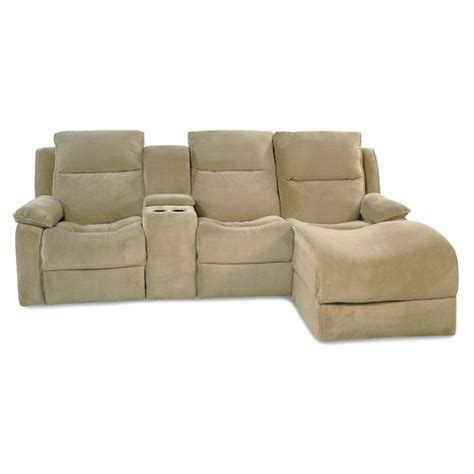 castaway pc power reclining chaise sectional rotmans