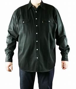 Chemise Jean Noir Homme : chemise jean noir grande taille homme western de duke ~ Melissatoandfro.com Idées de Décoration