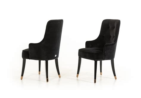 a x larissa modern black fabric dining chair