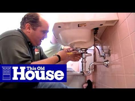 fix  bathroom sink stopper   house youtube
