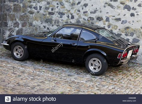 old opel old german classic sport car opel gt stock photo royalty