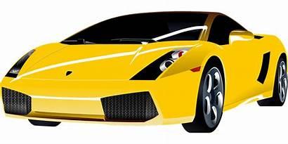 Clipart Luxury Expensive Race Lamborghini Vector Cliparts