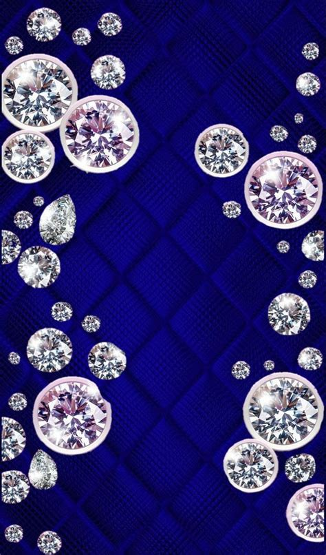 Explore and download tons of high quality blue wallpapers all for free! Diamond Wallpapers : Blue and silver | Diamond wallpaper, Bling wallpaper, Backgrounds phone ...