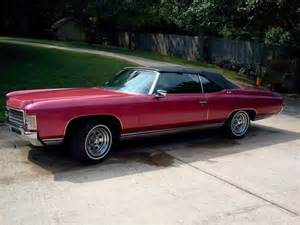 1971 Chevrolet Impala Convertible for Sale