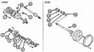 Suzuki Samurai Front Axle Diagram