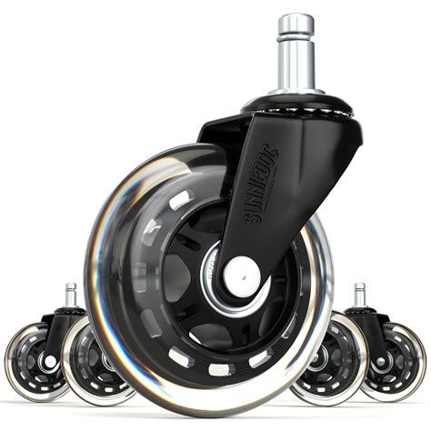 office chair caster wheels heavy duty universal size