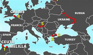 European fences: Map shows continent's desperate bid to ...