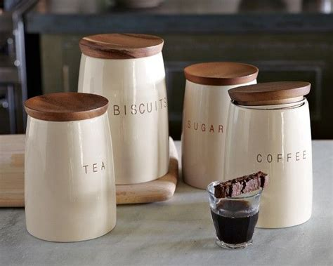 wooden kitchen storage jars 1000 images about coffee sugar and tea on 1646