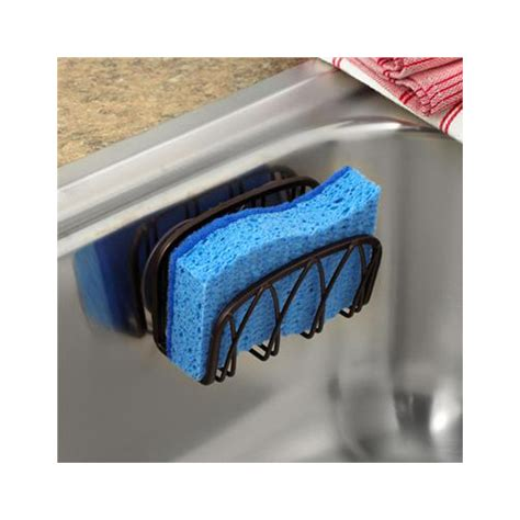 kitchen sponge holder suction sponge holder bronze in sink organizers