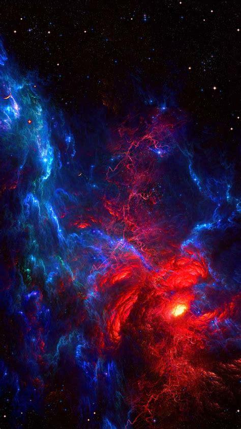 galaxy wallpaper smartphone
