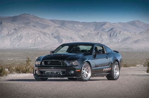 Mustang 1000 Price by 2013 Shelby 1000 Unleashes Its 1 200 Horsepower Ahead Of