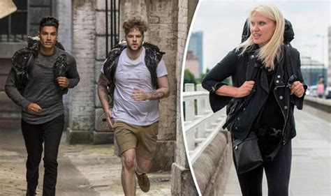 celebrity hunted  time  channel  show