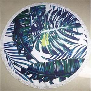 Serviette Ronde Eponge : bon plan une serviette de plage ronde pour 35 june sixty five blog mode ~ Teatrodelosmanantiales.com Idées de Décoration