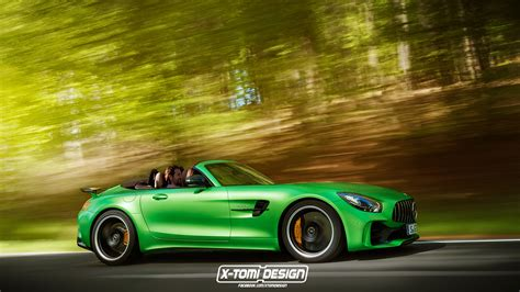 mercedes amg gt  roadster   coming   carscoops