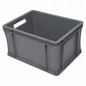 Aufbewahrungsbox 50 X 40 : bauhaus eurobeh lter 20 l 40 x 30 x 22 cm geschlossen stapelbar bauhaus ~ Markanthonyermac.com Haus und Dekorationen