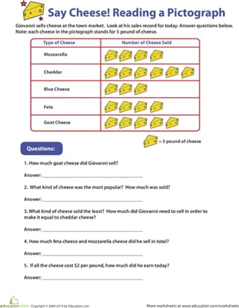 data handling worksheets grade 4 the best worksheets image