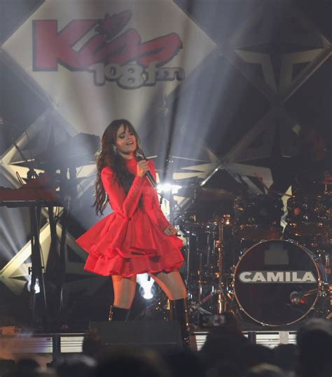 Camila Cabello Kiss Jingle Ball Boston