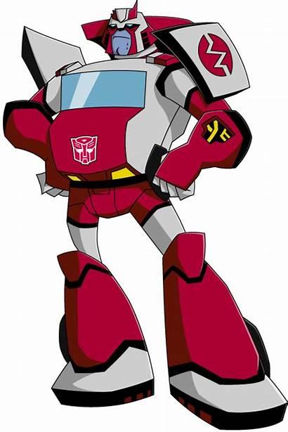 Ratchet Animated Autobot Transformers Toy Autobots Tfw2005