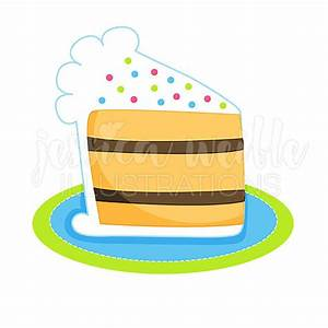 Birthday cake slice clipart - BBCpersian7 collections