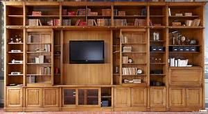 Bibliothèque En Pin : biblioth que ~ Teatrodelosmanantiales.com Idées de Décoration