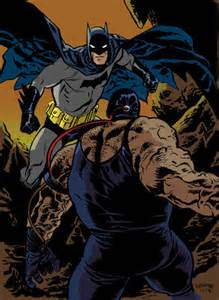 Batman vs Bane Comics
