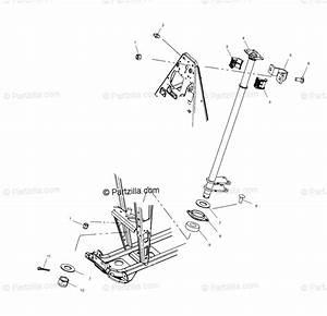 Polaris Atv 2001 Oem Parts Diagram For Steering Post