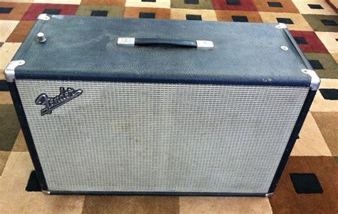 fender 2x10 guitar cabinet vintage fender tremolux 2x10 guitar cabinet w original