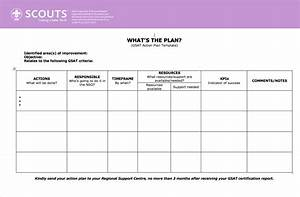 Email Template Word Gsat Action Plan Template World Scouting