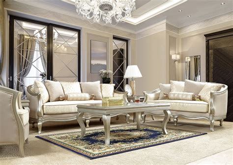 Strictly speaking, the term victorian really only applies to a style in architecture, art, clothing. HD 700 Homey Design Upholstery Living Room Set Victorian ...