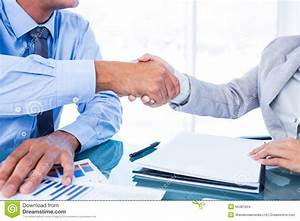 Business People Shaking Hands Stock Photo - Image: 56481004