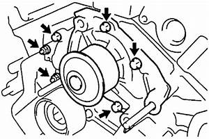 Howtorepairguide Com  How To Replace Water Pump On Toyota