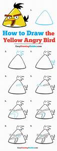 How To Draw The Yellow Angry Bird