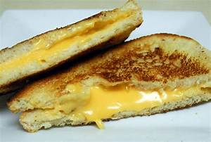 My Perfect Grilled Cheese Sandwich