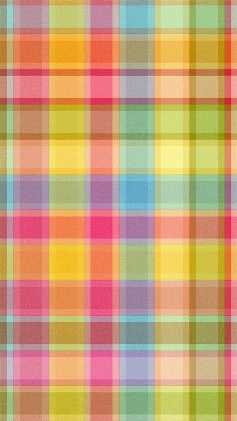 The procedure is basic, just you select which cute pattern picture you like and after that you simply transform it into backdrop on your cell. Multicolored checkered iPhone pattern wallpaper - @mobile9 | Wallpapers for iPhone 5/5s, iPhone ...