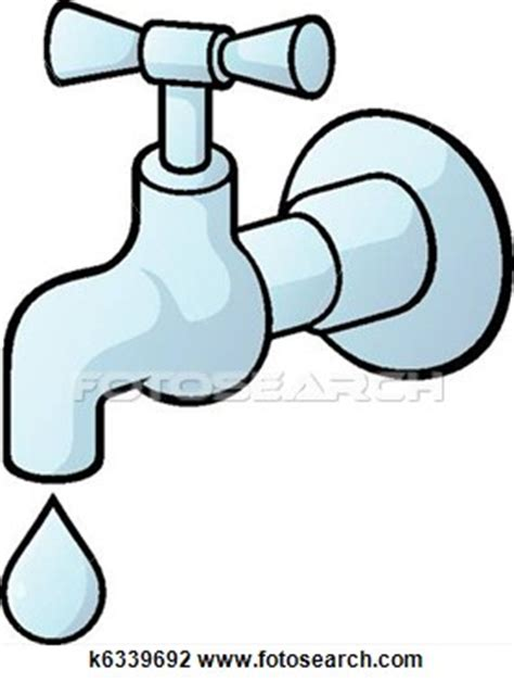 Slow Running Sink by Dripping Tap Clip Art Search Cliparts Images