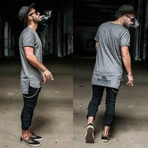 TREND ALERT Tall Tees and Very Long Shirts | dappermen101
